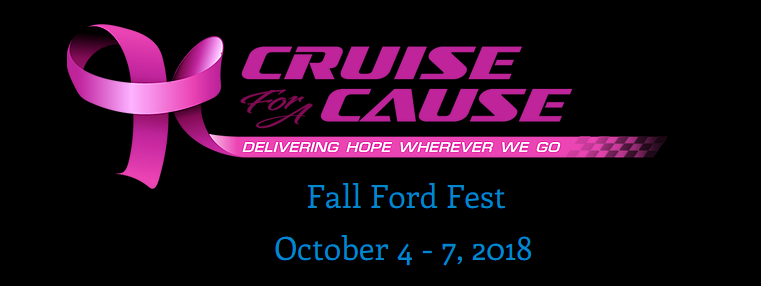 Cruise for a Cause Fall Ford Fest