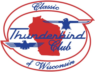 Classic Thunderbird Club Of Wisconsin Club Logo