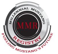 Millennial Mustang Registry Club Logo