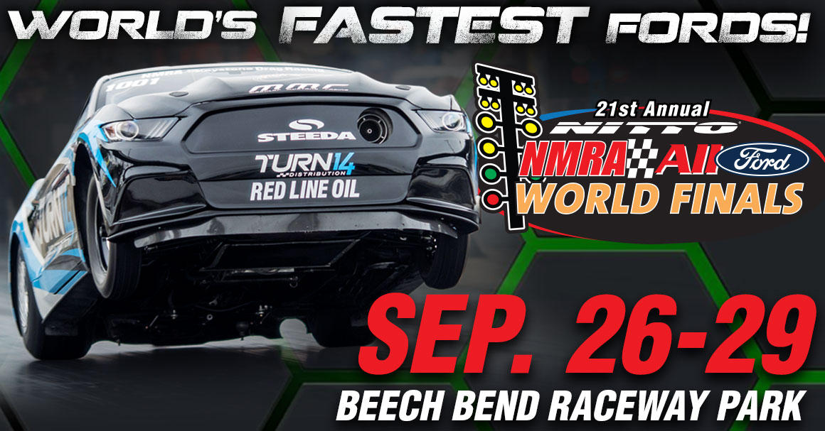 The biggest and baddest Mustang and Ford drag race of the year hits Beech Bend Raceway for the 21st annual Nitto Tire All-Ford World Finals and it is bringing 2,000hp Street Outlaws with them to battle it out on the famed drag strip.
