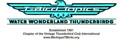 Water Wonderland Thunderbird Club Logo