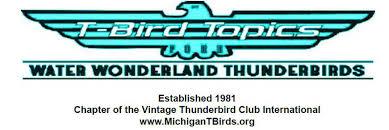 Water Wonderland Thunderbird Club Logo