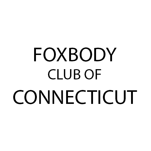 Foxbody Club of Connecticut logo