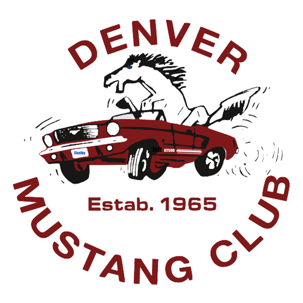 Denver Mustang Club Logo