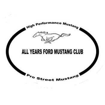 High Performance Mustang and Pro Street Mustang All years Logo