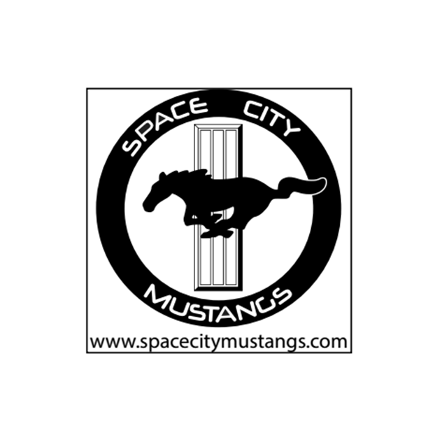 Space City Mustangs Logo