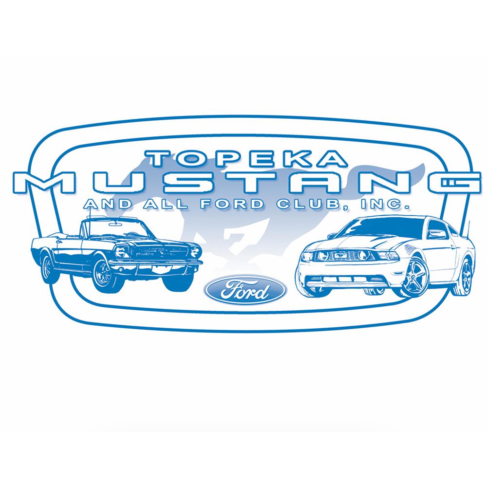 Topeka Mustang Club Logo