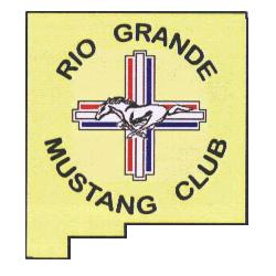 Rio Grande Mustang Club Logo
