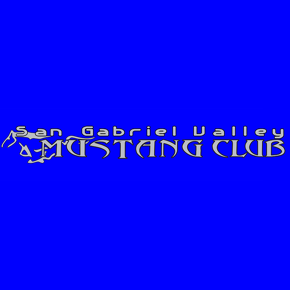 San Gabriel Valley Mustang Club Logo