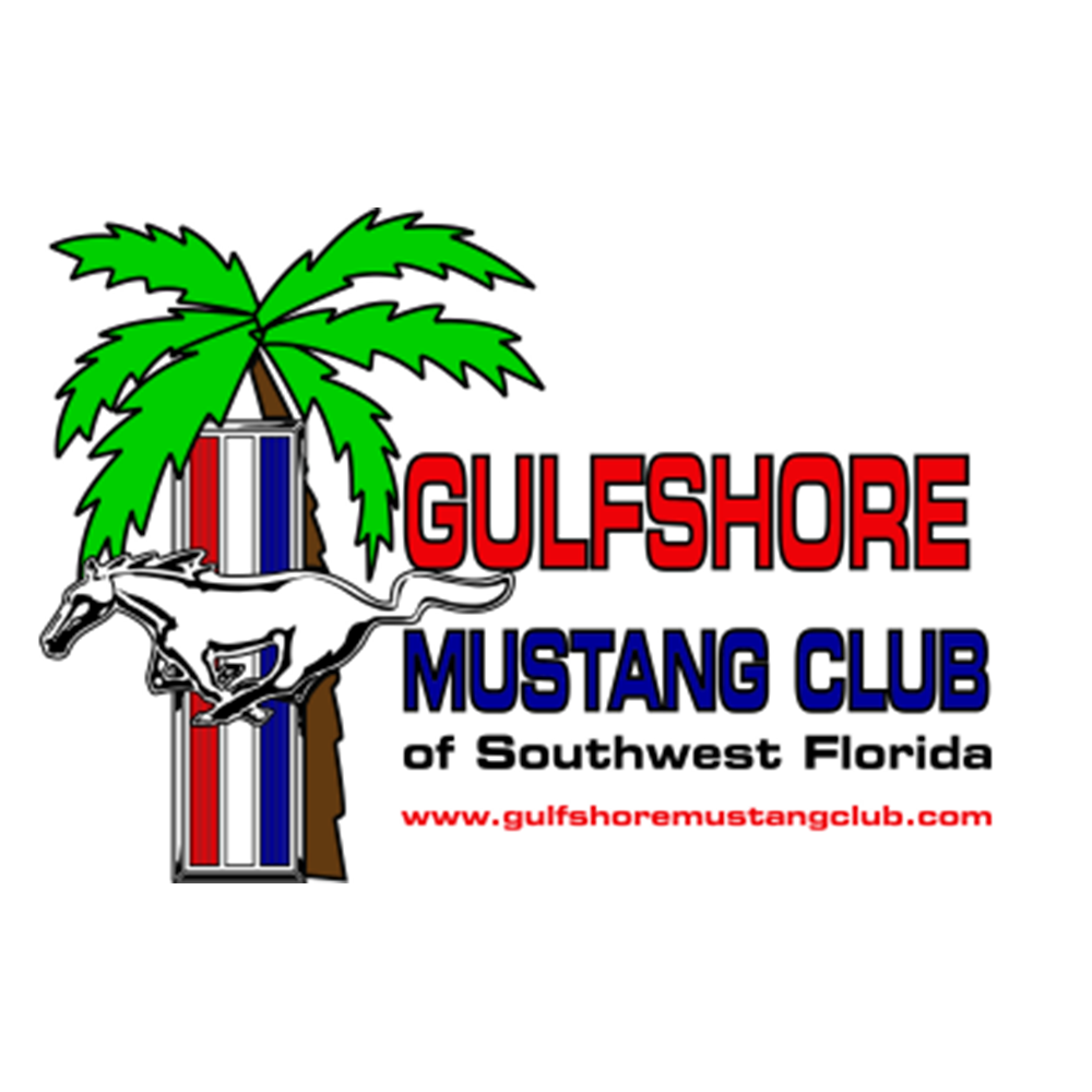 GulfShore Mustang Club of Southwest Florida Logo