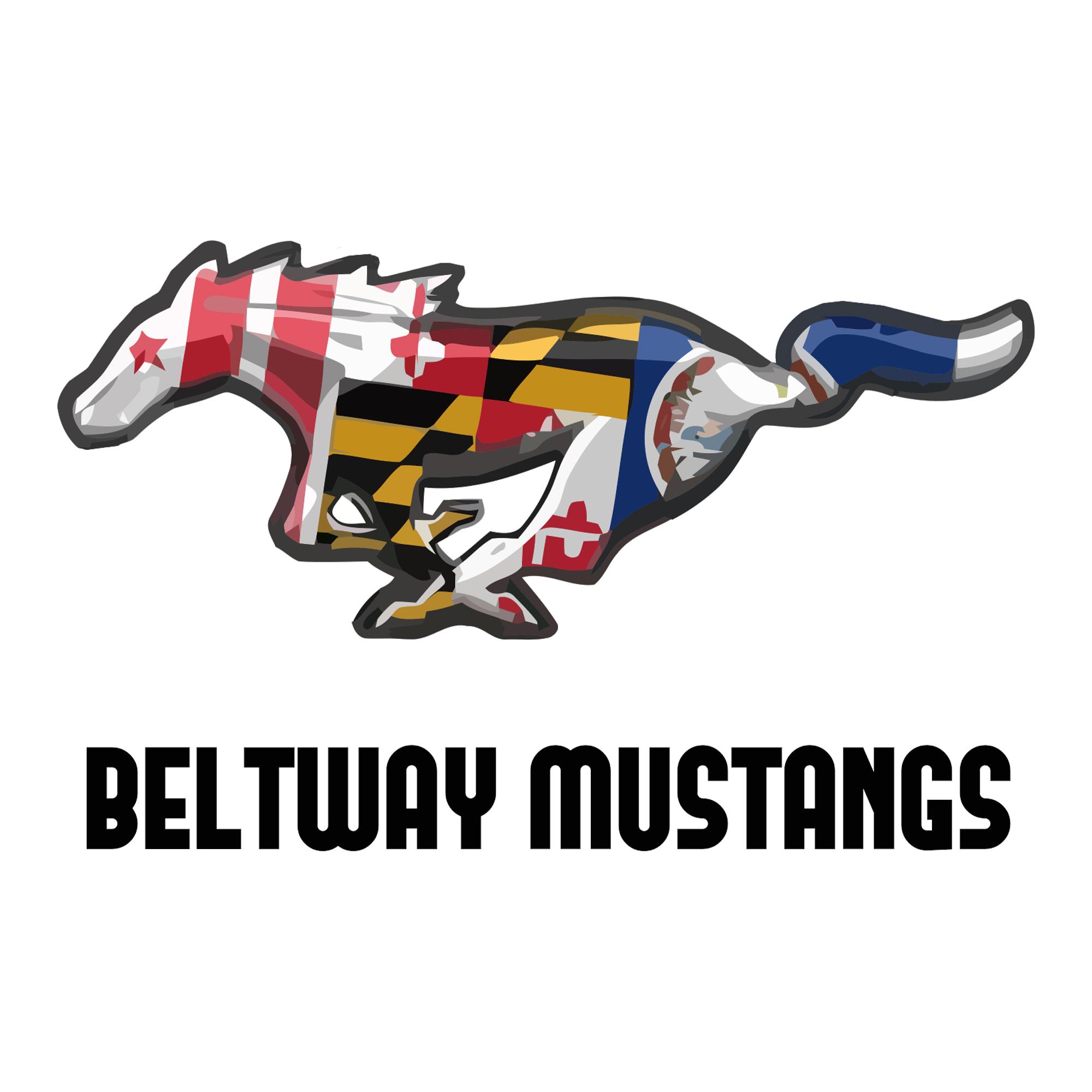 Beltway Mustangs Club Logo