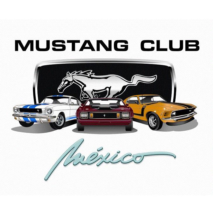 Mustang Club Mexico, A.C. logo
