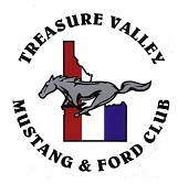 Treasure Valley Mustang and Ford Club Logo
