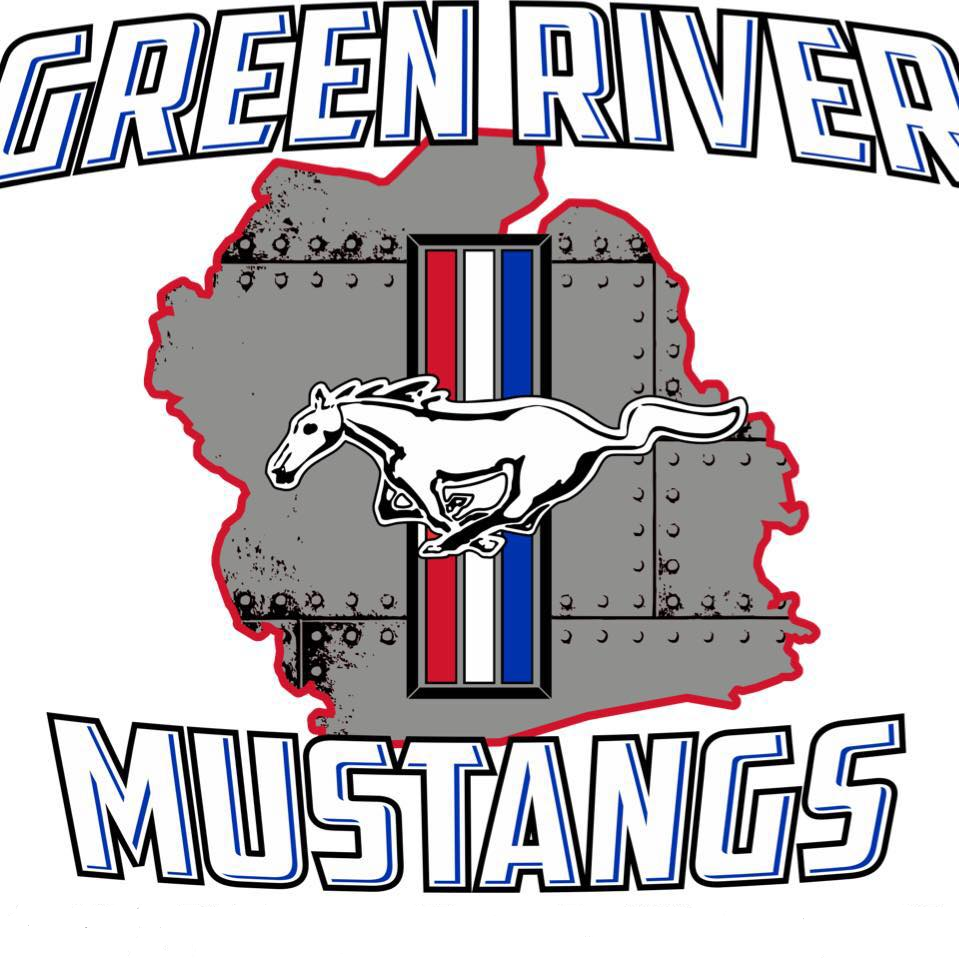 Green River Mustangs logo