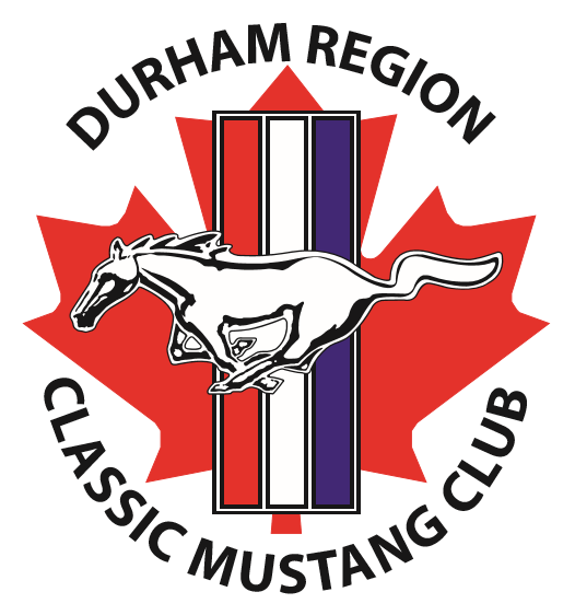 Durham Region Classic Mustang Club (DRCMC) Logo