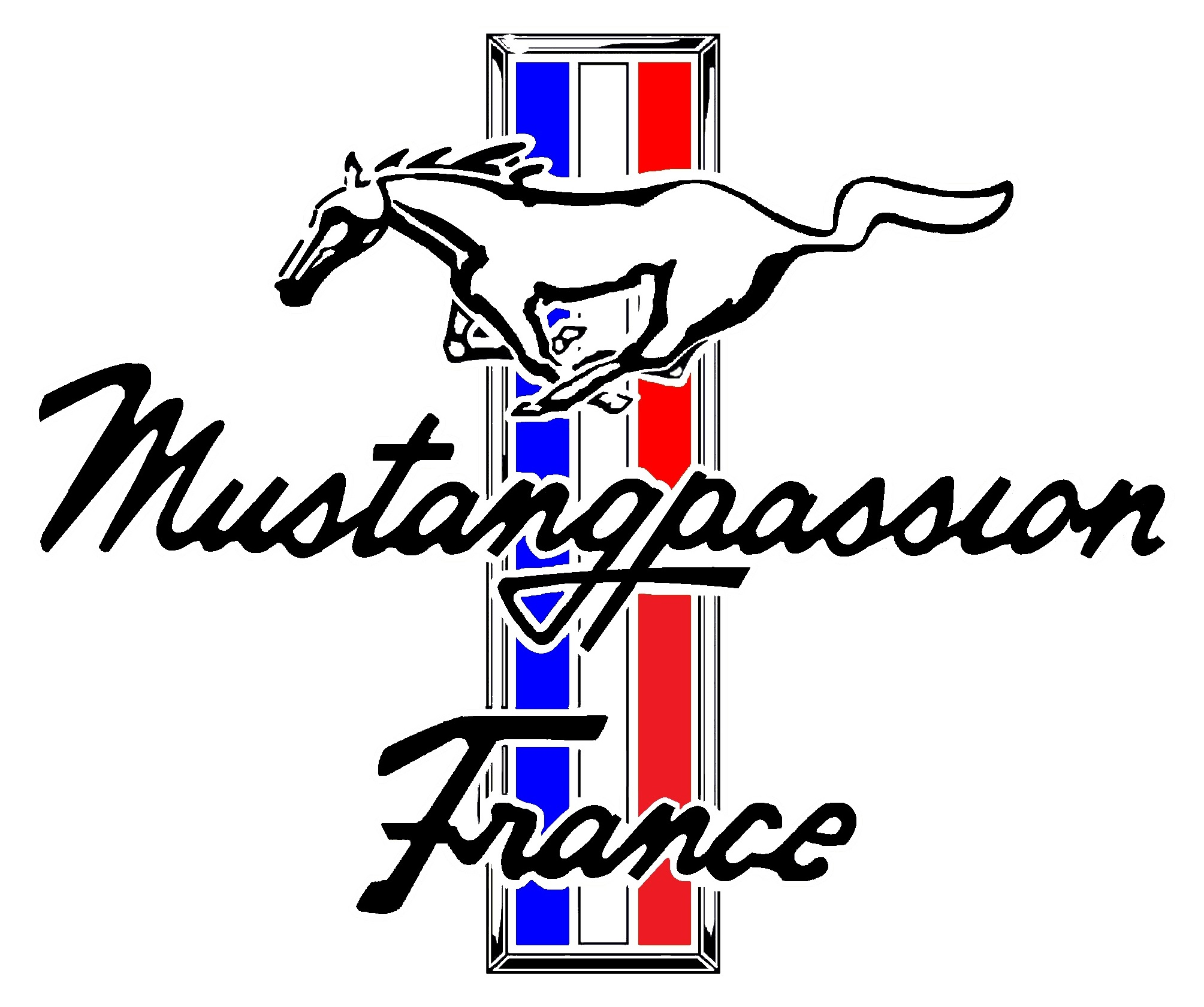 Mustangpassion France Club Logo