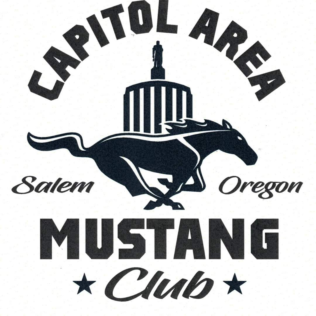 Capitol Area Mustang Club of Oregon Club Logo