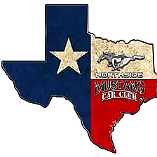 Northside Mustang Car Club Logo