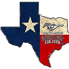 Northside Mustang Car Club Logo