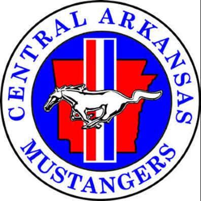 Central Arkansas Mustangers Logo