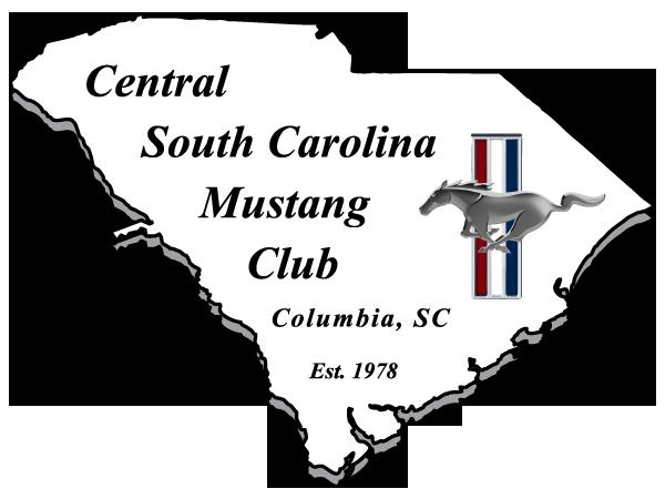 Central South Carolina Mustang Club Logo