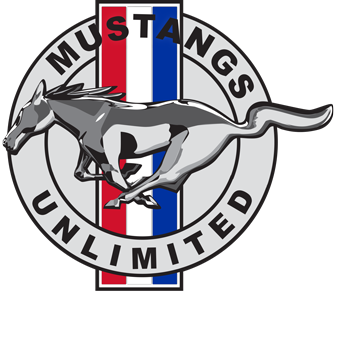 Mustangs Unlimited Car Club of Vancouver Logo