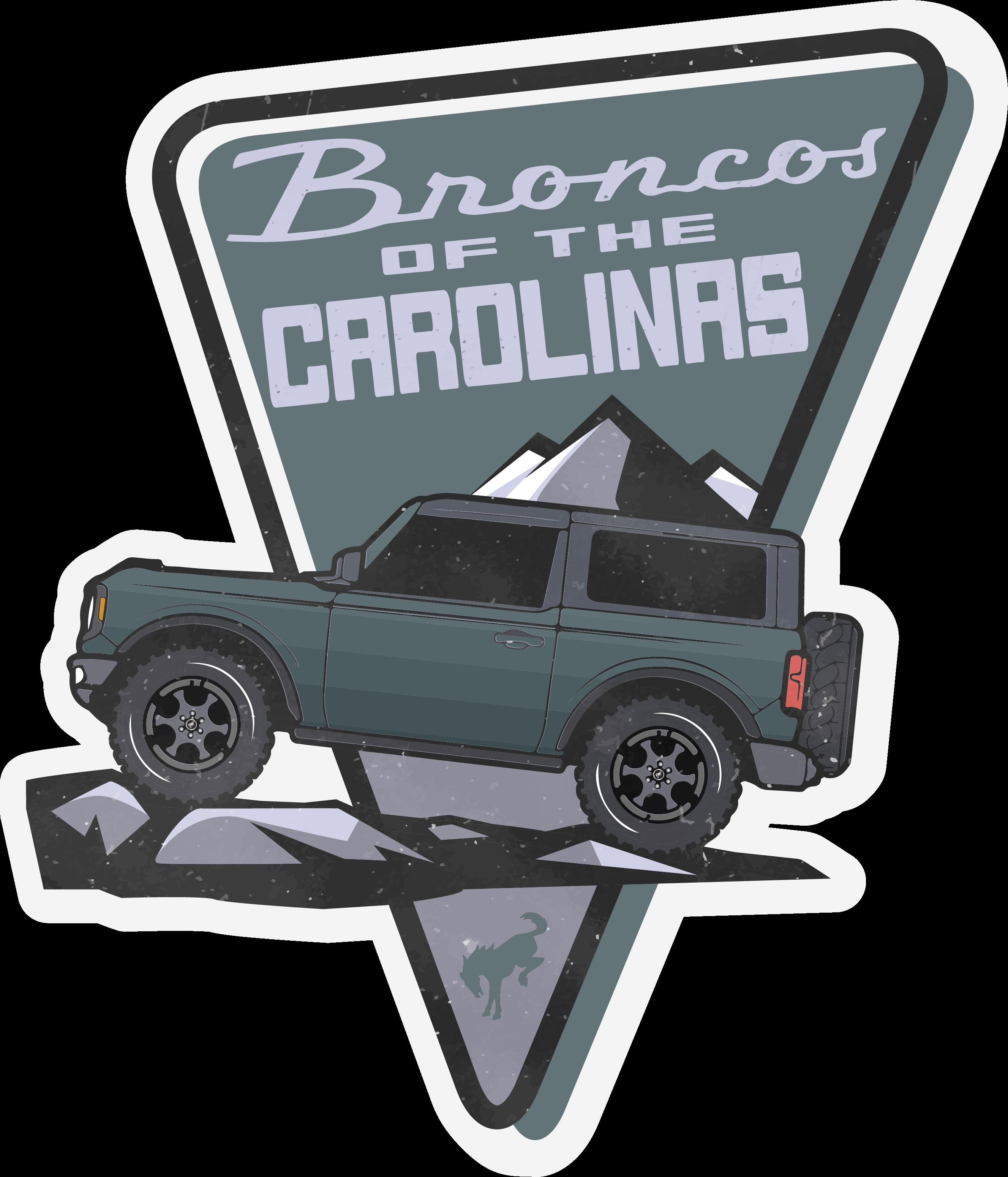 Broncos Of The Carolinas Club logo