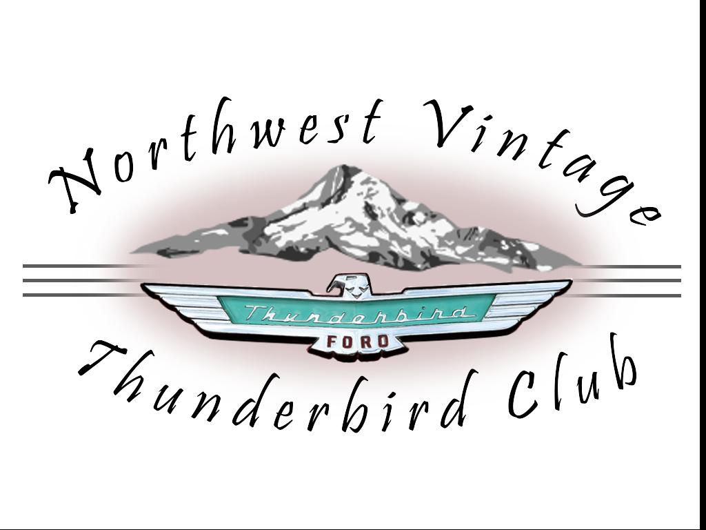 Thunderbird logo with mountains