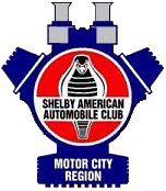 Shelby American Automobile Club - Motor City Region (SAAC-MCR)  Logo